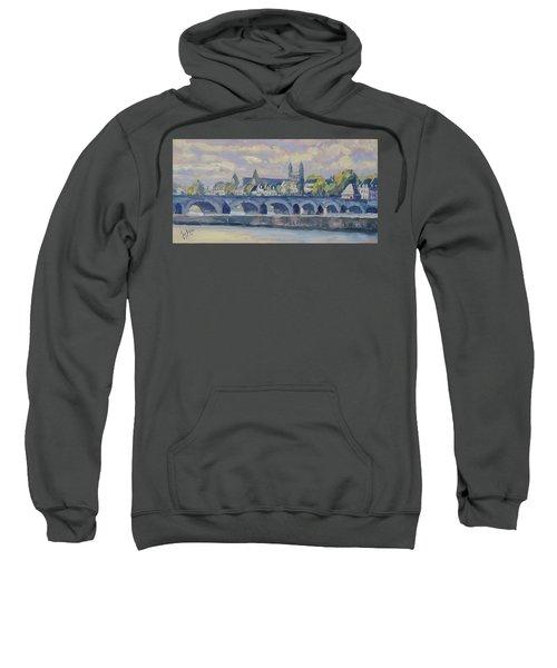 Summer Meuse Bridge, Maastricht Sweatshirt