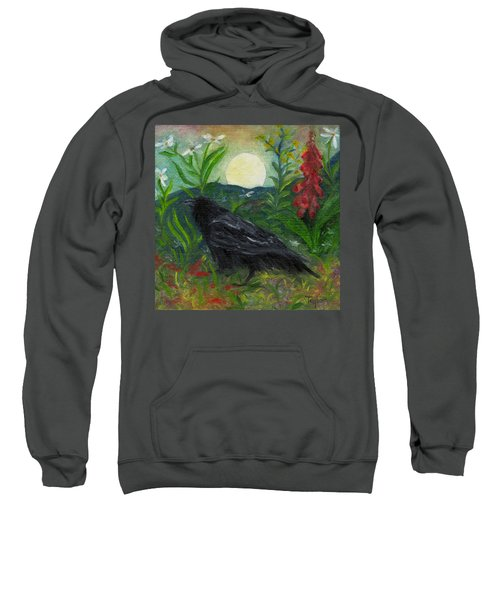 Summer Moon Raven Sweatshirt