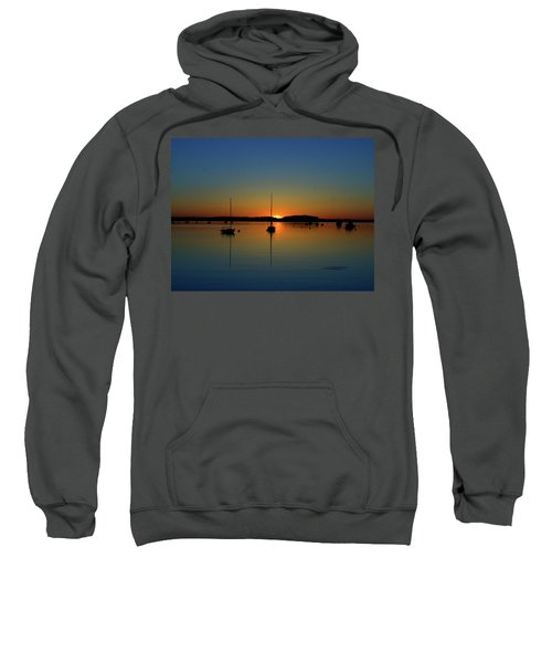 Summer Sunset Monument Beach Sweatshirt