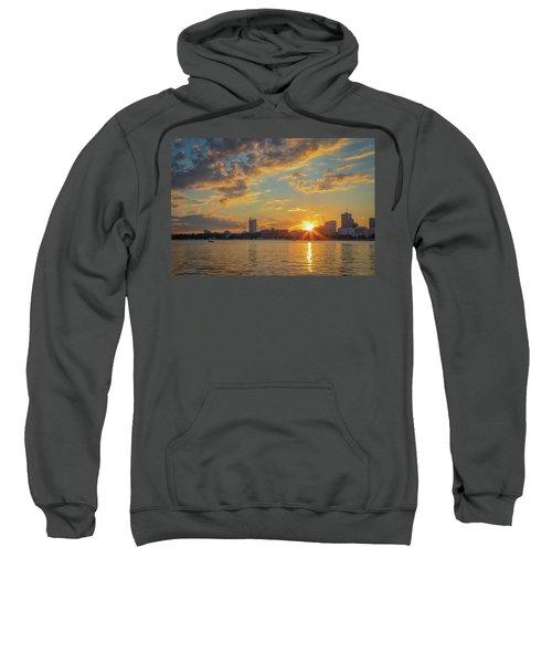 Summer Sunset Over Cambridge Sweatshirt