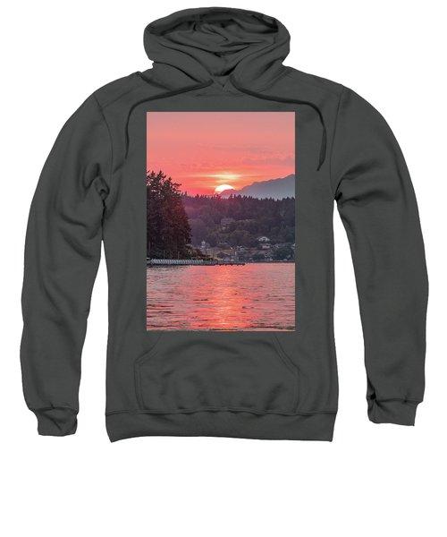 Summer Sunset Over Yukon Harbor.3 Sweatshirt