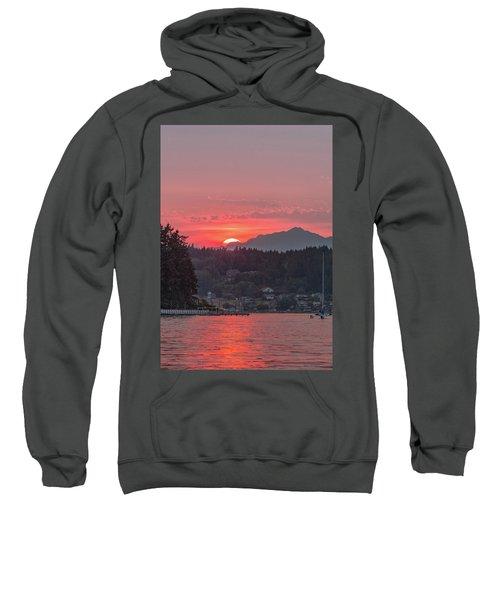 Summer Sunset Over Yukon Harbor.4 Sweatshirt