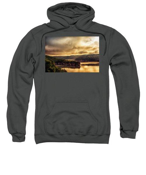 Summersville Lake At Daybreak Sweatshirt