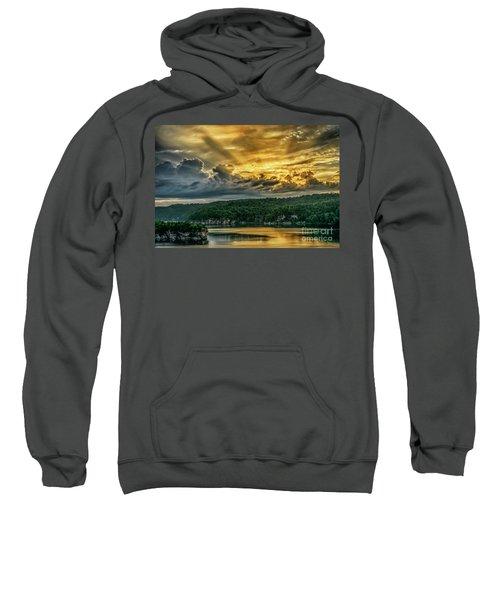 Summersville Lake Sunrise Sweatshirt