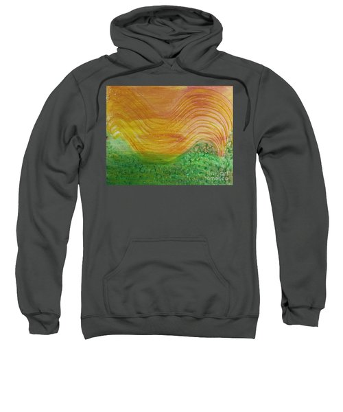 Sun And Grass In Harmony Sweatshirt