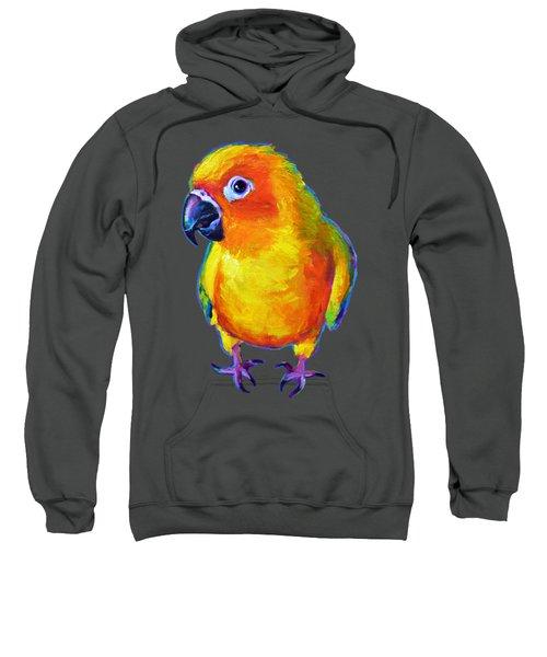 Sun Conure Parrot Sweatshirt