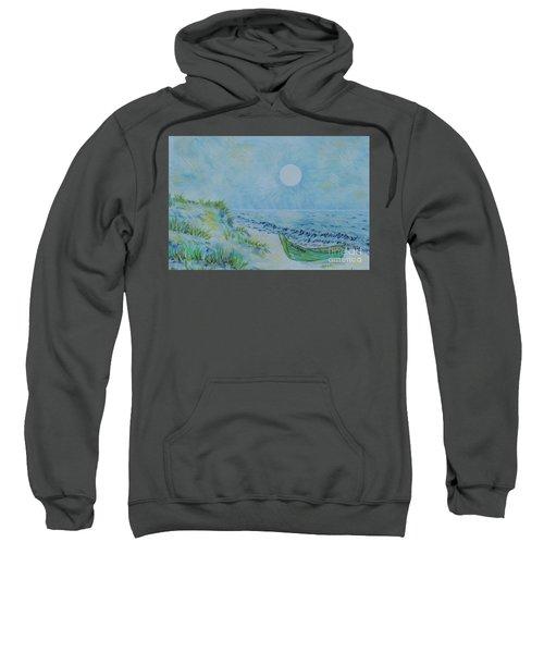 The Green Wooden Boat  Sweatshirt