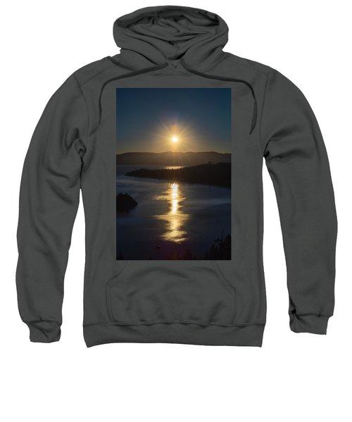 Sun Rising Over Lake Tahoe Sweatshirt