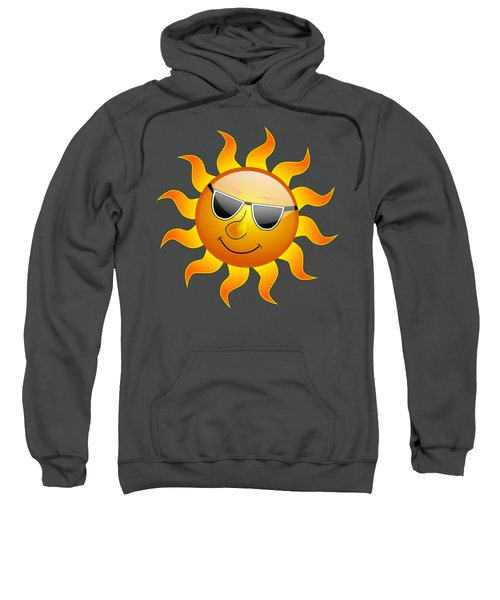 Sun With Sunglasses Sweatshirt