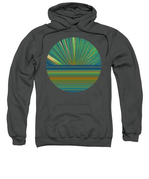 Sweatshirt featuring the photograph Sunburst by Michelle Calkins