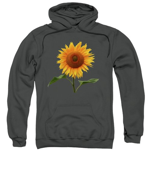 Sunflower And Red Sunset Sweatshirt