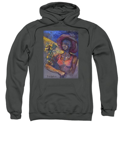 Sunflower Woman Sweatshirt