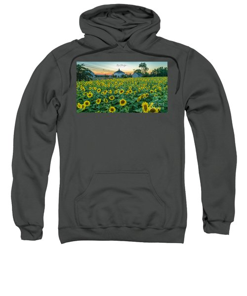 Sunflowers For Wishes  Sweatshirt