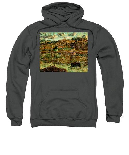 Sunlight On The Harlem River 1919 Sweatshirt