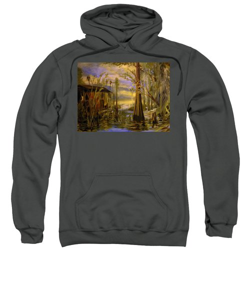 Sunlight On The Swamp Sweatshirt