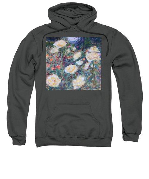 Sunny Day At The Rose Garden Sweatshirt