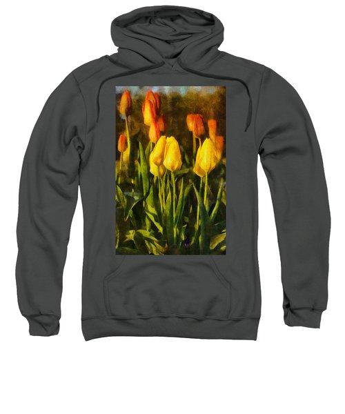 Sunny Tulips Sweatshirt