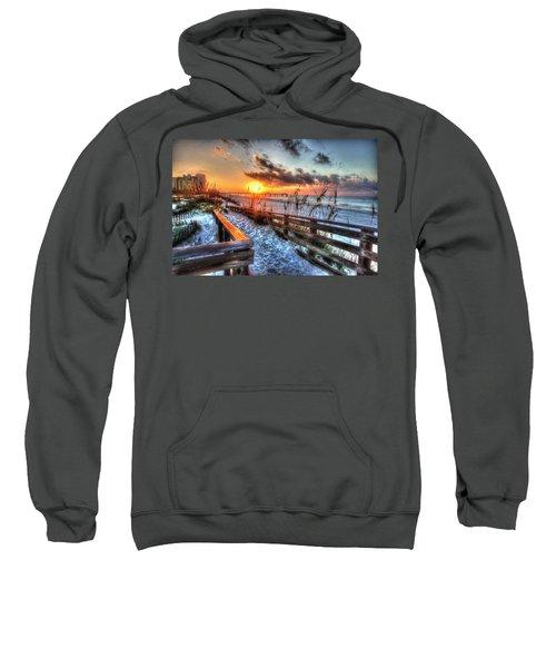 Sunrise At Cotton Bayou  Sweatshirt