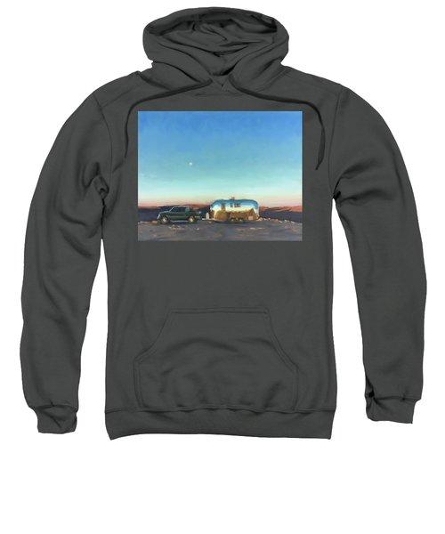 Sunrise At Gooseneck Canyon. Sweatshirt