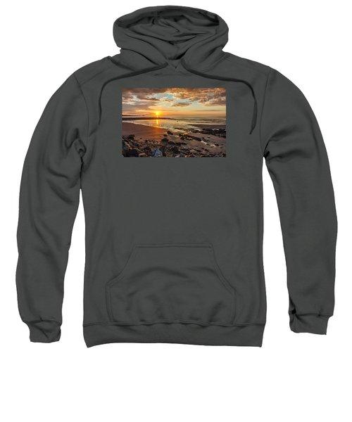 Sunrise At Long Sands Sweatshirt