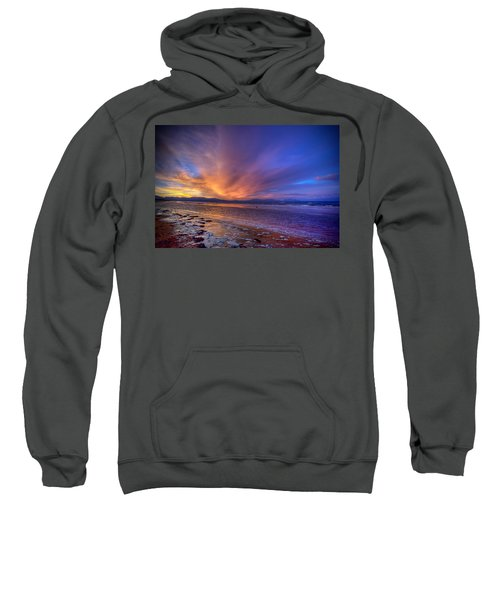 Sunrise At Newborough Sweatshirt
