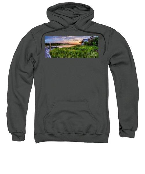 Sunrise At The Boat Ramp Sweatshirt