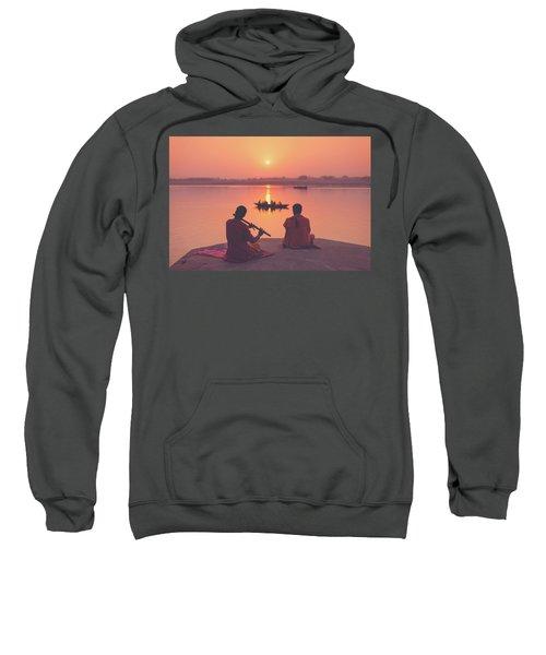 Sunrise By The Ganges Sweatshirt