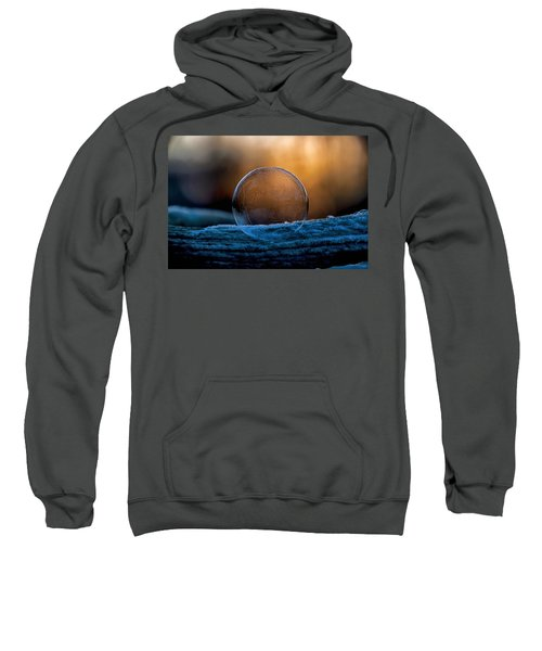 Sunrise Capture In Bubble Sweatshirt