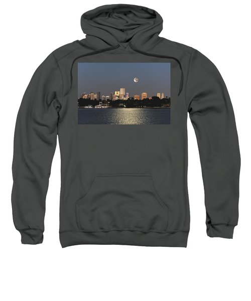 Moonrise Over Miami Sweatshirt