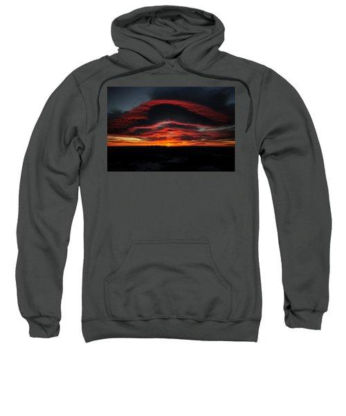 Sunrise On Rainier Sweatshirt