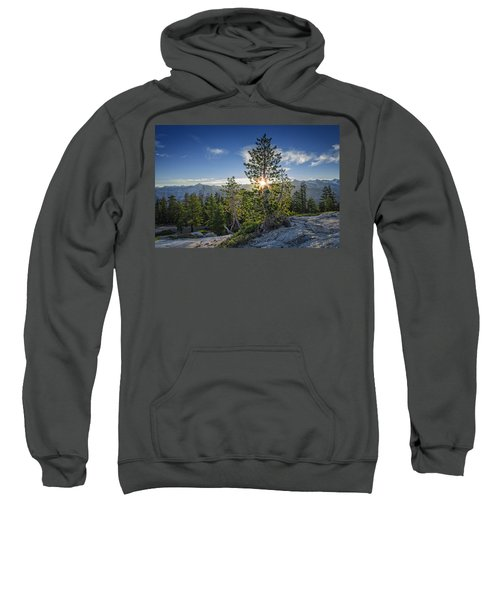 Sunrise On Sentinel Dome Sweatshirt