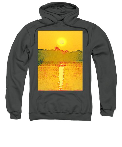 Sunrise On Town Lake Sweatshirt