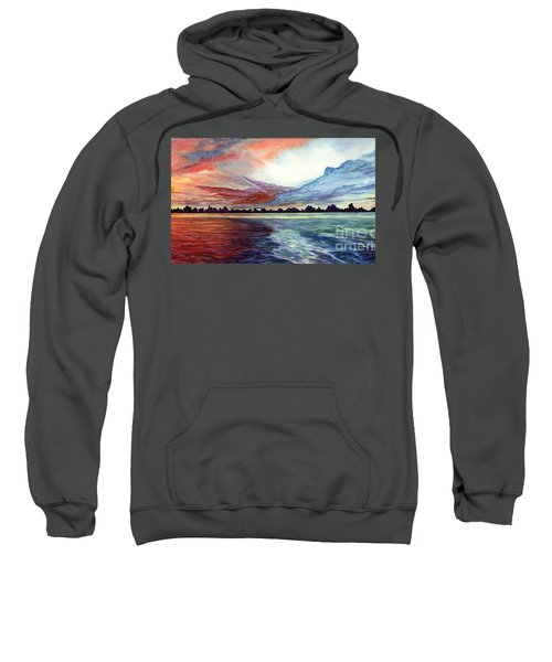 Sunrise Over Indian Lake Sweatshirt