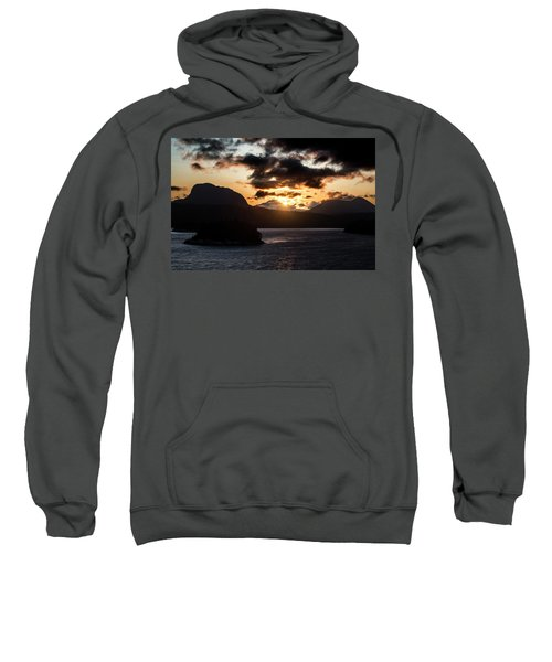 Sunrise Over The Inland Passage Sweatshirt