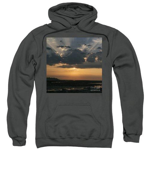 Sunrise Over The Isle Of Wight Sweatshirt
