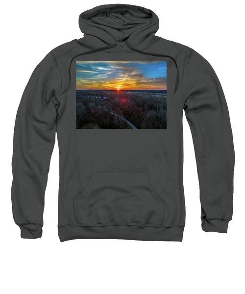 Sunrise Over The Woods Sweatshirt
