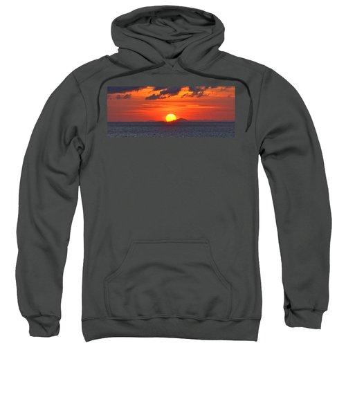 Sunrise Over Western Cuba Sweatshirt