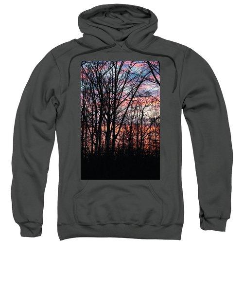 Sunrise Silhouette And Light Sweatshirt