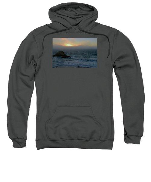 Sunset With The Bird Sweatshirt
