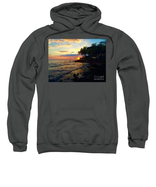 Sunset At A-bay Sweatshirt