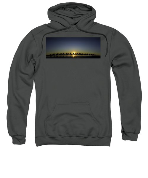 Sunset At Cable Beach Sweatshirt