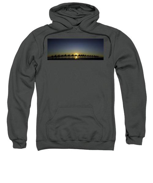 Sunset At Cable Beach Sweatshirt