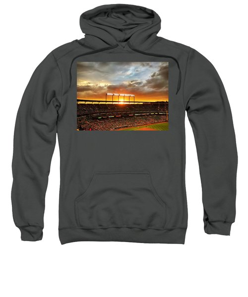Sunset At Camden Yards Sweatshirt