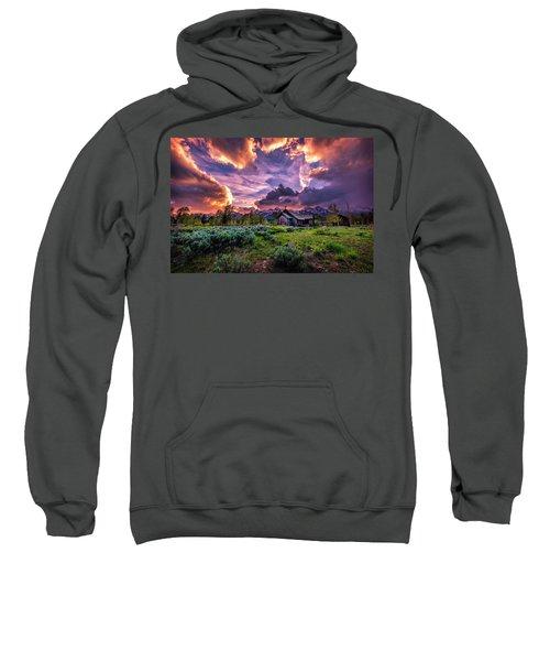 Sunset At Chapel Of Tranquility Sweatshirt