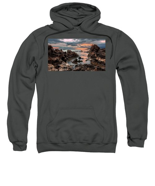 Sunset At Charley Young Beach Sweatshirt