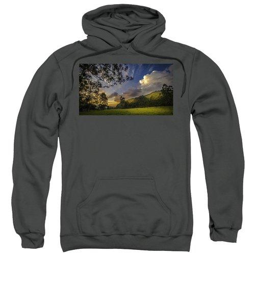 Sunset At Cocora Sweatshirt