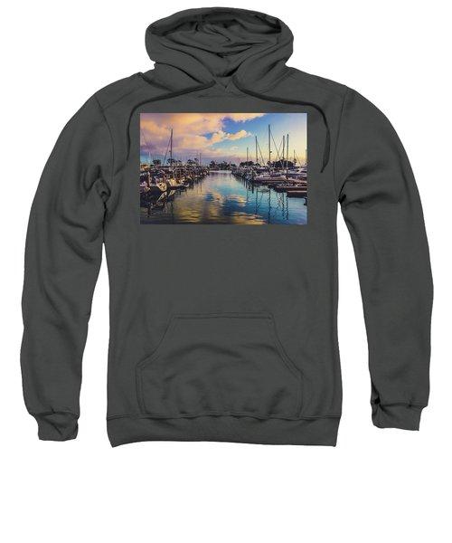 Sunset At Dana Point Harbor Sweatshirt