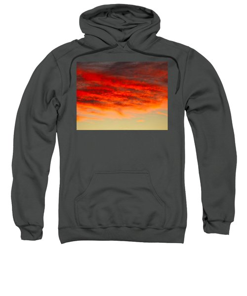 Sunset At Eaton Rapids 4826 Sweatshirt