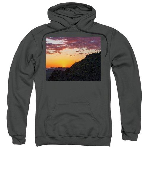 Sunset At Gate's Pass Sweatshirt
