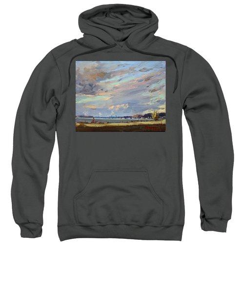 Sunset At Gratwick Waterfront Park Sweatshirt